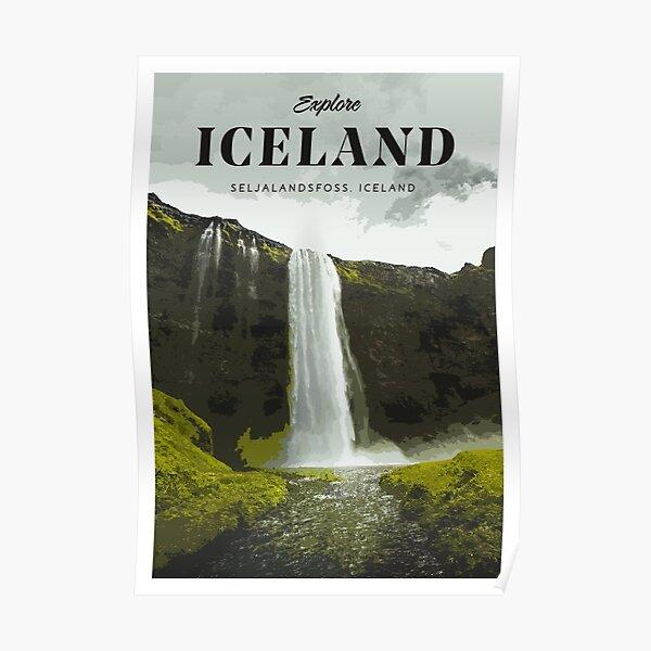 Visit Iceland Poster
