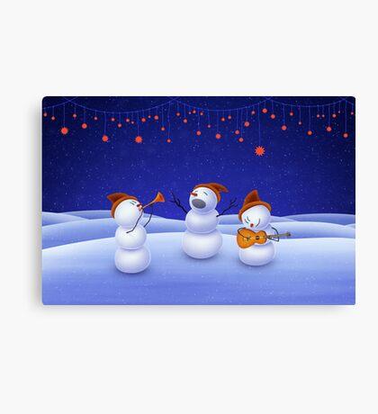 A Christmas Song Canvas Print