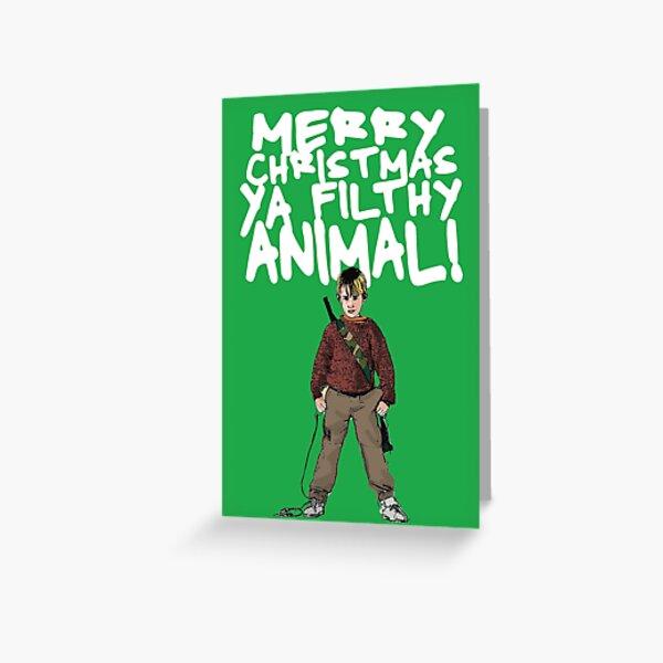 Kevin MacCallister Alternative Christmas Card Greeting Card