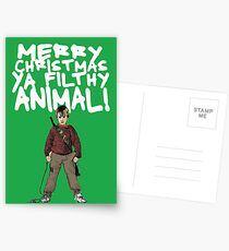 Kevin MacCallister Alternative Christmas Card Postcards