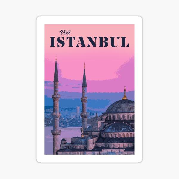 Visit Istanbul  Sticker
