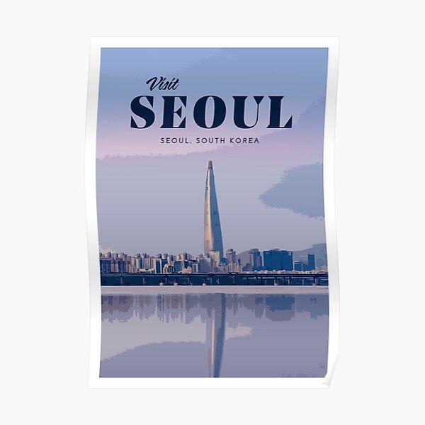 Séoul Poster