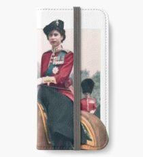 Elizabeth II's horse iPhone Wallet/Case/Skin