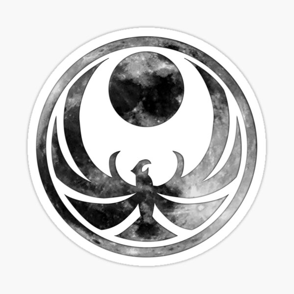 Elder Scrolls V Skyrim - Nightingale (moon) Sticker