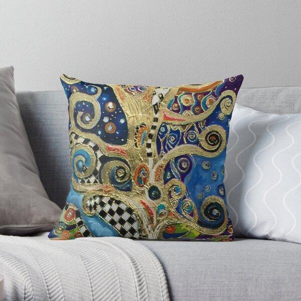 Les saisons changeantes de Klimt Coussin