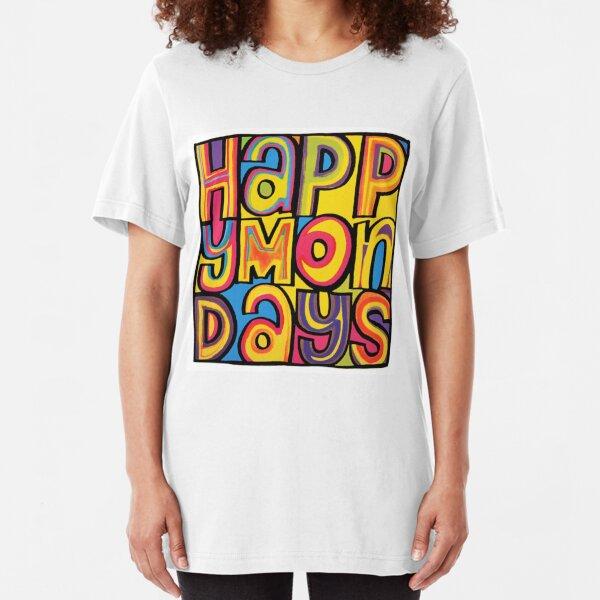 Happy Mondays Slim Fit T-Shirt