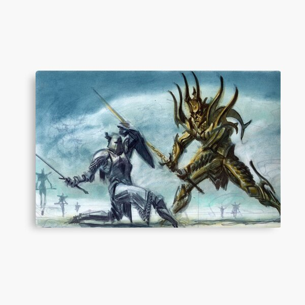 The Song of Pelinal Whitestrake Canvas Print