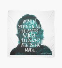Women belong RBG Scarf