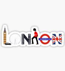 london geotag  Sticker