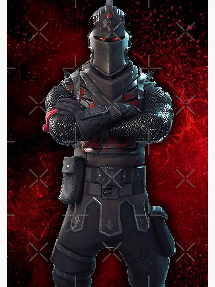 Schwarzer Ritter Poster von ApexArtz