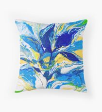 Blues flowers Floor Pillow