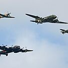 The Battle of Britain Memorial Flight Cosford 2018 - 1 by Colin  Williams Photography
