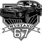 67 Mustang Fastback by CoolCarVideos