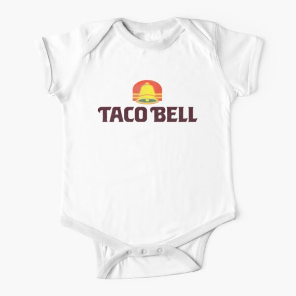 Taco Bell (retro) Short Sleeve Baby One-Piece