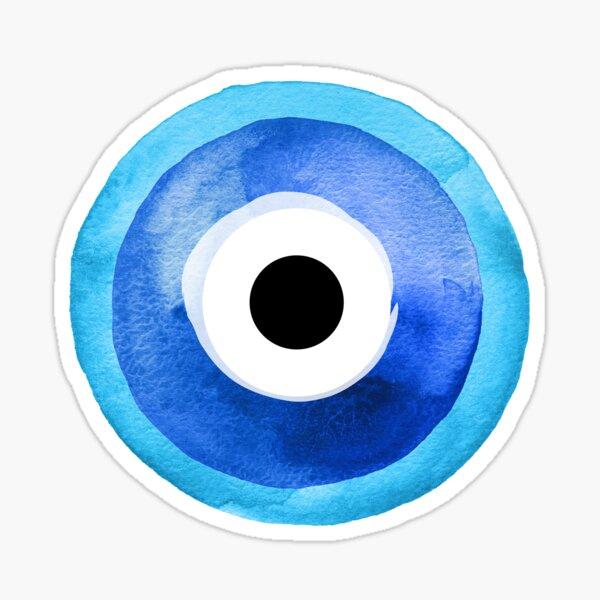 Watercolor Nazar Boncugu II Evil Eye Sticker