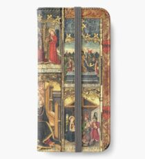 Virgin Mary Inspired Gifts |  view at The Met Gallery 305  iPhone Wallet/Case/Skin