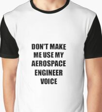 Aerospace Engineer Gift for Coworkers Funny Present Idea Graphic T-Shirt