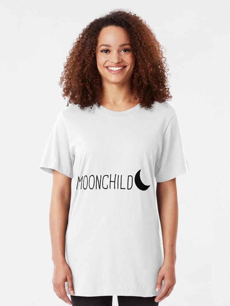 Alternative Ansicht von Mondkind Slim Fit T-Shirt