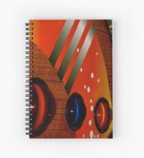 Disco-Teak Spiral Notebook