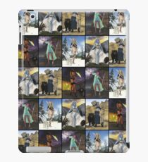 Giants Series Block Pattern iPad Case/Skin