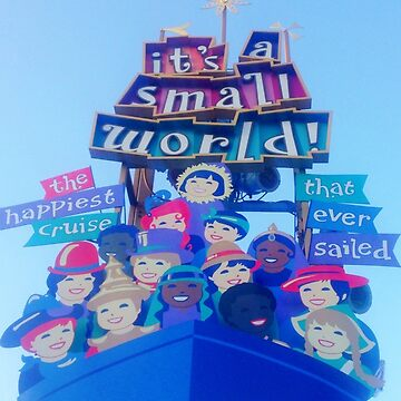 It's a Small World by j0rj0rbinks