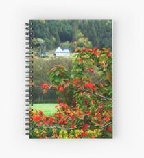 Autumn in the Highlands Spiral Notebook