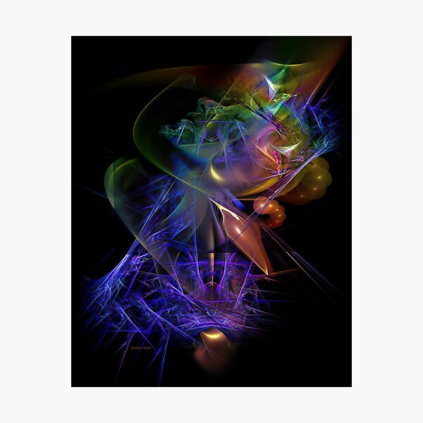 Drenched in Color Photographic Print