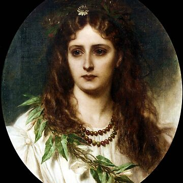 Ophelia - Thomas Francis Dicksee by forgottenbeauty