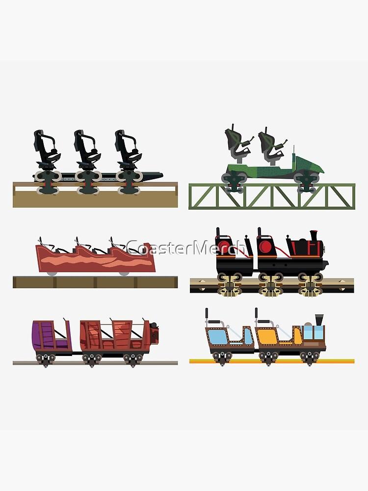 Liseberg Coaster Cars Design by CoasterMerch