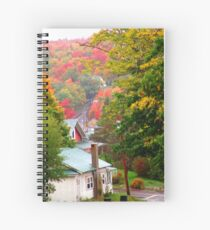Homes in Bear River Spiral Notebook