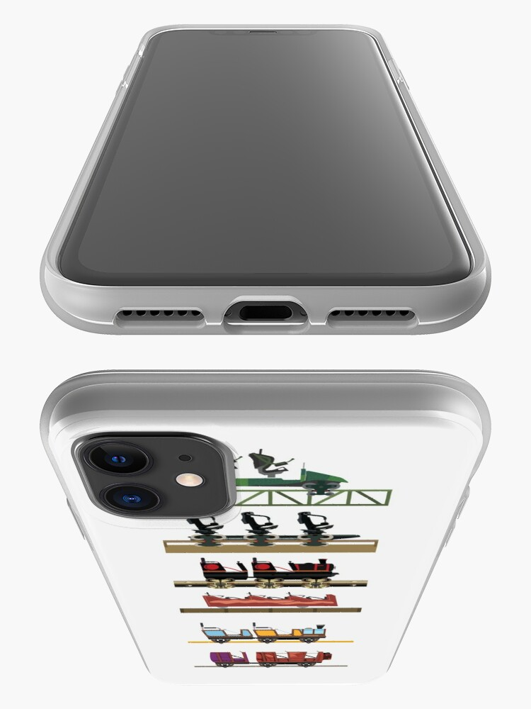 Alternate view of Liseberg Coaster Cars Design iPhone Case & Cover