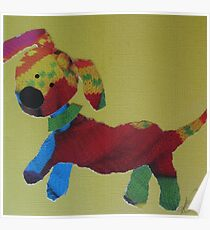 Purl One Knit One Pup Poster