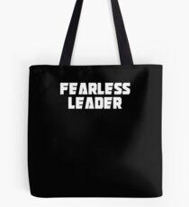 Bolsa de tela Fearless Leader T-Shirt Leadership shirt for Motivation Tee