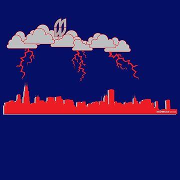 Lightning Strikes by MIDWESTpeeps
