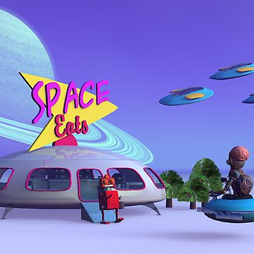 Space Eats Cafe by mdkgraphics