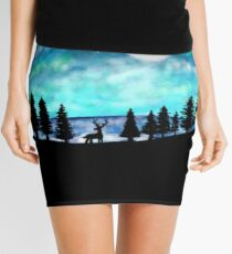Aurora Borealis Mini Skirt
