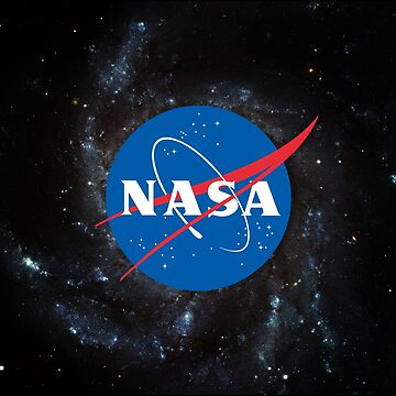 «Logo de la NASA - logo de la boulette de viande de la NASA sur fond de galaxie» par ChillingNation