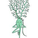 Yoga Neuron by TheNeuronFamily