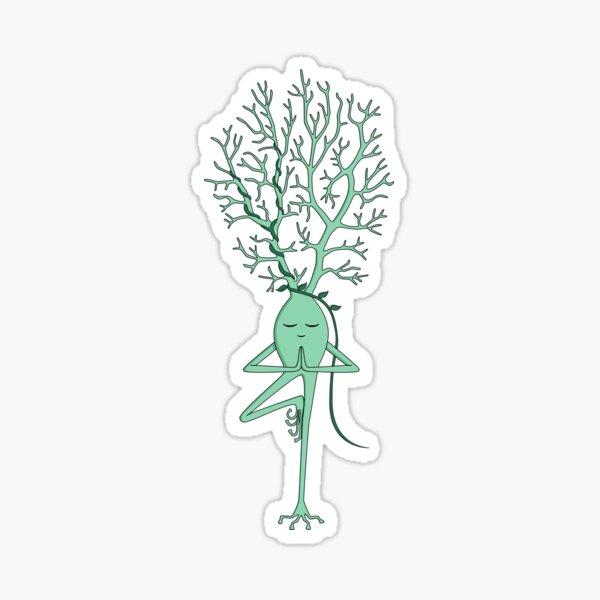 Yoga Neuron Sticker