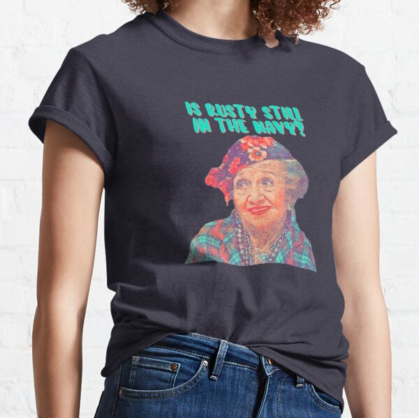 Aunt Bethany - Is Rusty still in the Navy? Christmas Vacation Classic T-Shirt