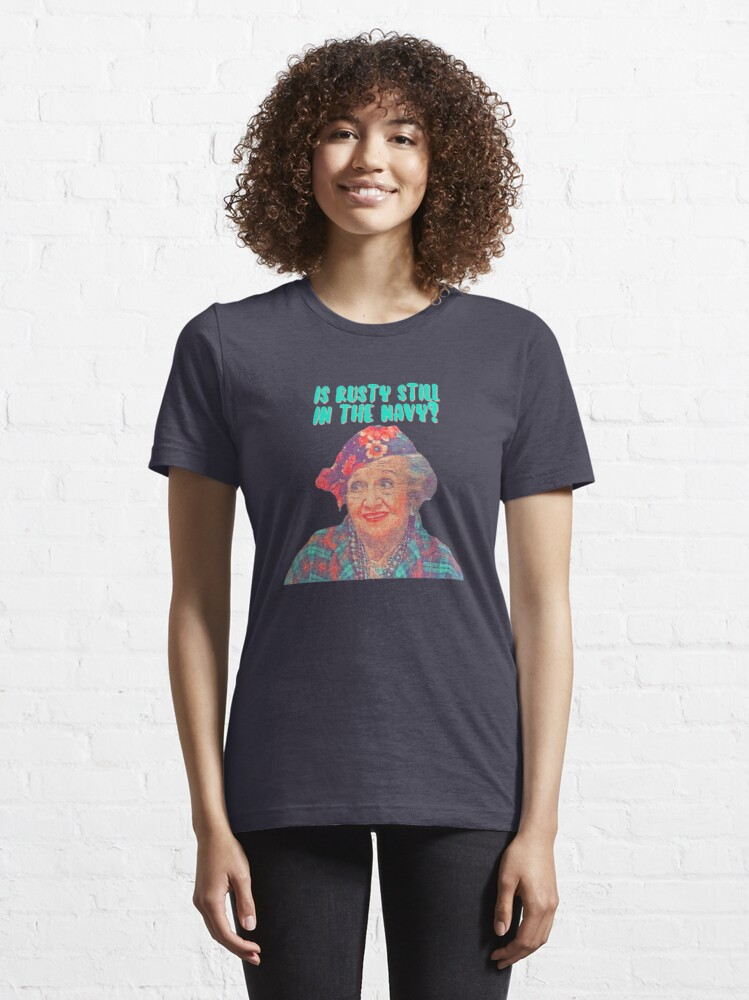 Alternate view of Aunt Bethany - Is Rusty still in the Navy? Christmas Vacation Essential T-Shirt