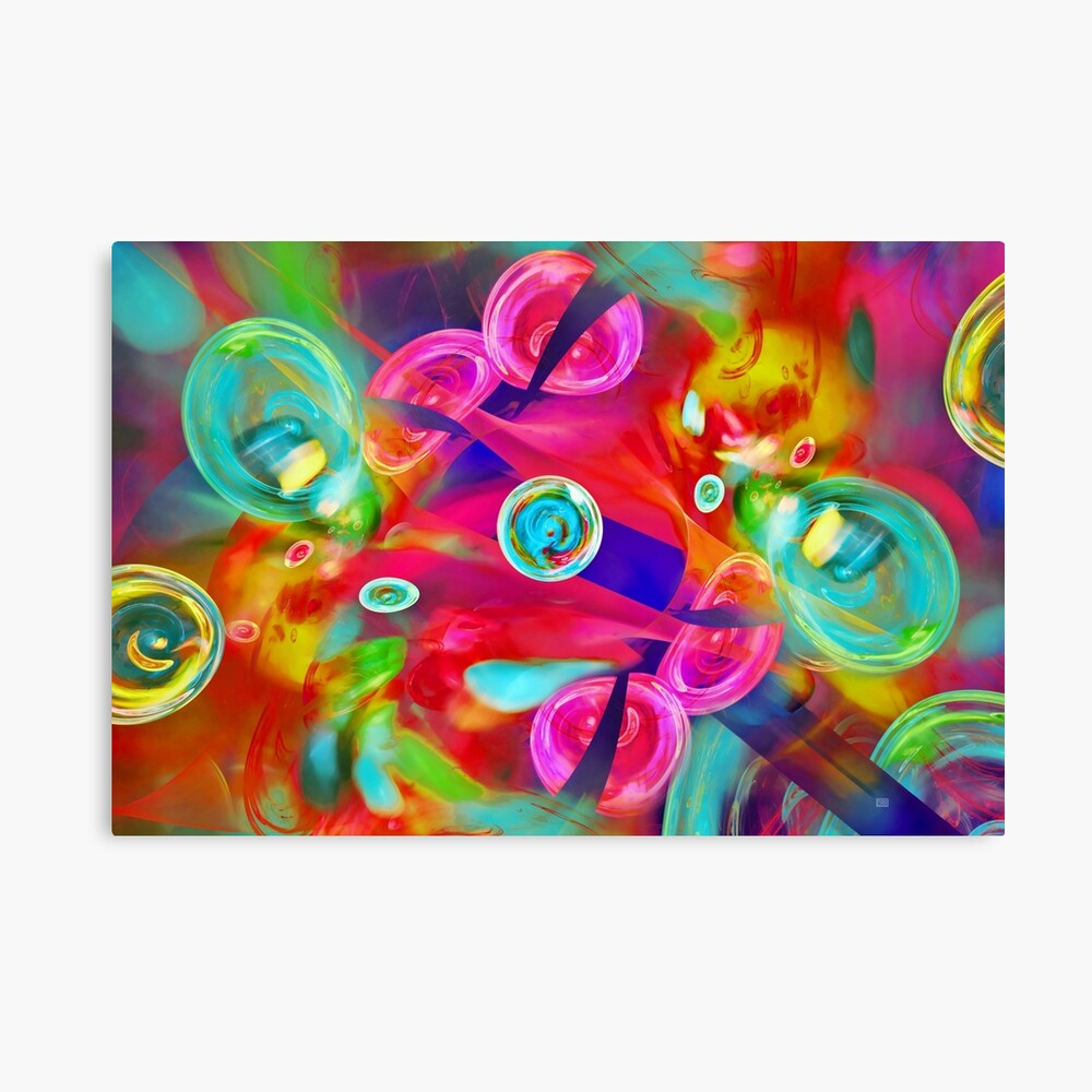 Hot Candy Canvas Print