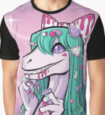 Desusaur Sweet Lolita  Grafik T-Shirt