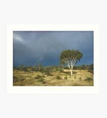 an awe-inspiring Australia landscape Art Print