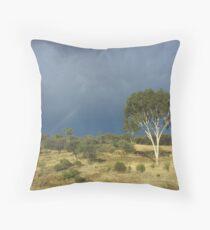 an awe-inspiring Australia landscape Throw Pillow