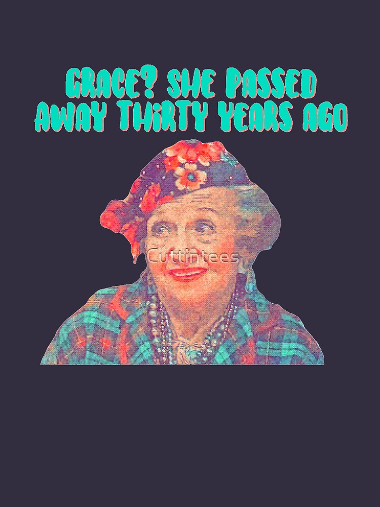 Aunt Bethany - Grace? She passed away thirty years ago - Christmas Vacation by Cuttintees