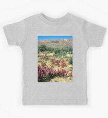 a vast Australia landscape Kids Tee