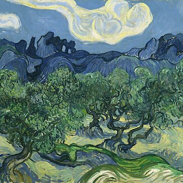 Vincent Van Gogh - Olive Trees by manbird