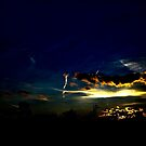 Blue Yellow Photography Transportation Sky Skyscape Peaceful Painting Sunset by LongbowX