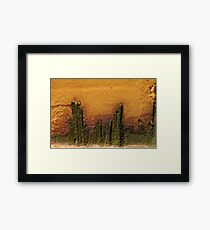 The Island ~ landscape in Metal Framed Print